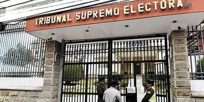 tribunal supremo electoral en bolivia