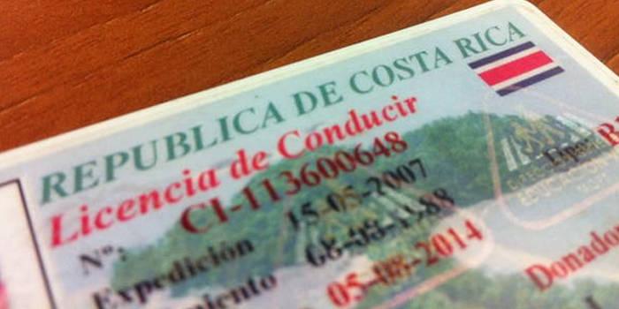 renovar licencia de conducir en costa rica
