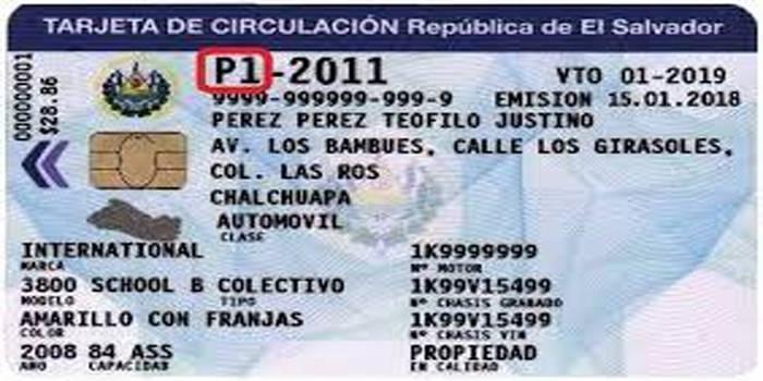 licencia de conducir en el salvador