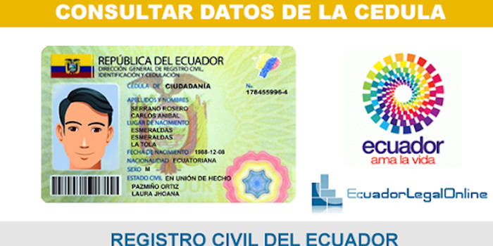 numero de cedula por provincias en ecuador