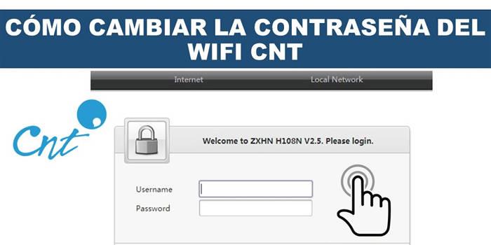 pasos a seguir para cambiar la clave del wifi cnt